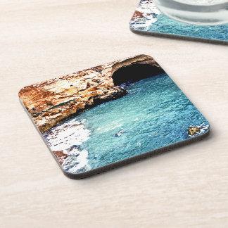 Disappearing Beach - Vale Covo - Algarve Portugal Coaster