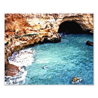 Disappearing Beach - Vale Covo - Algarve Portugal Art Photo