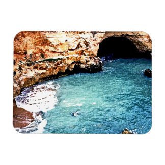 Disappearing Beach - Vale Covo - Algarve Portugal Rectangular Photo Magnet