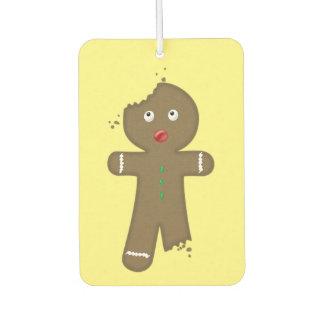 Disappearing Gingerbread Man Air Freshener