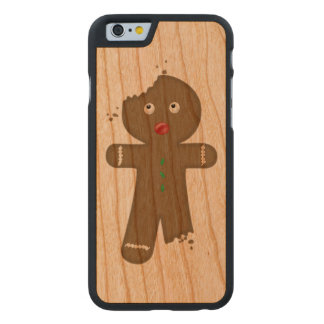 Disappearing Gingerbread Man Carved® Cherry iPhone 6 Case