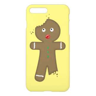 Disappearing Gingerbread Man iPhone 7 Plus Case