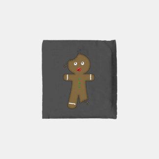 Disappearing Gingerbread Man Reusable Bag