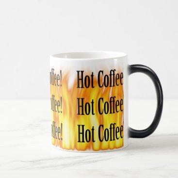 Coffee Themed Disappearing Hot Coffee Mug
