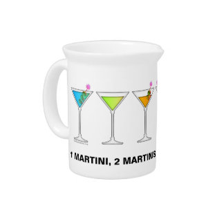 DISAPPEARING MARTINI Cocktail PITCHER
