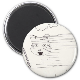 Disappearing Scottish Wildcat magnet