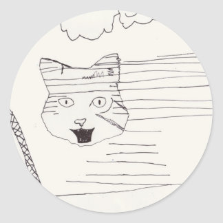 Disappearing Wildcat stickers