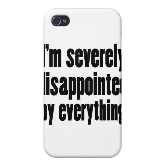 Disappointed 1 iPhone 4/4S case