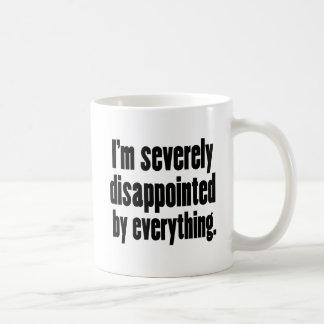 Disappointed 1 coffee mug