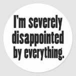 Disappointed 1 sticker