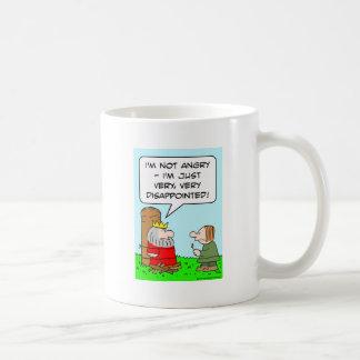 disappointed king burn stake coffee mugs