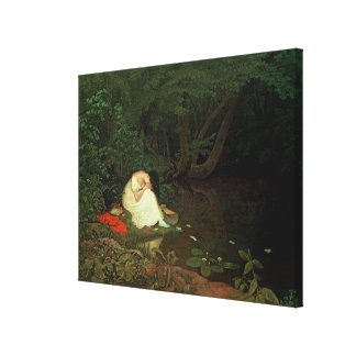 Disappointed love, 1821 canvas print