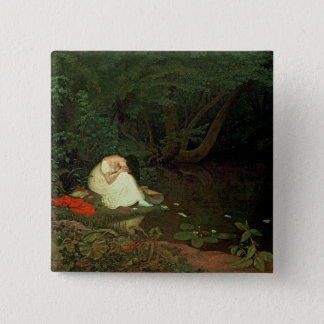Disappointed love, 1821 pinback button
