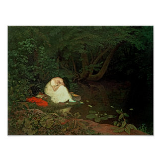 Disappointed love, 1821 poster