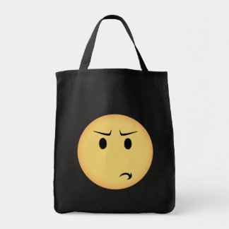 Disappointed Moji Tote Bag