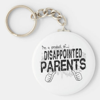 disappointed parents key chain