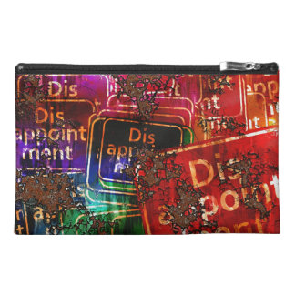 Disappointment Collage Travel Accessory Bags