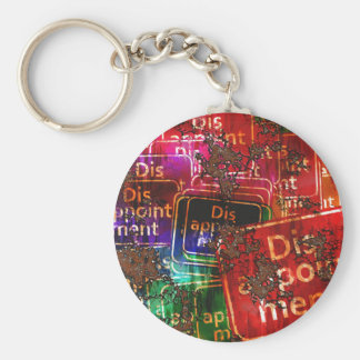 Disappointment Collage Keychains