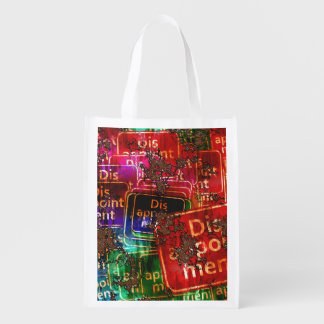 Disappointment Collage Market Totes