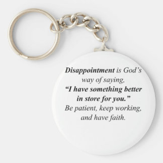 Disappointment Key Chain