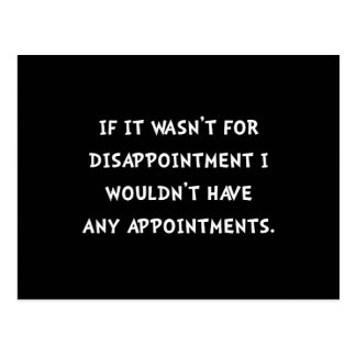 Disappointment Postcard