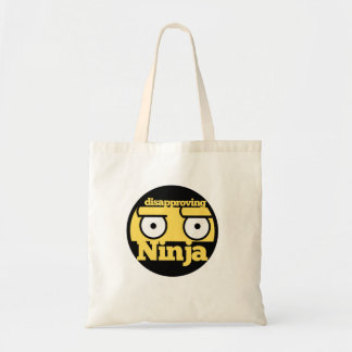 Disapproval Ninja Canvas Bags