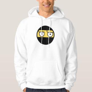 Disapproval Ninja Face Hoodie