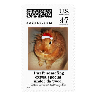 Disapproving Bunny Rabbit stamps