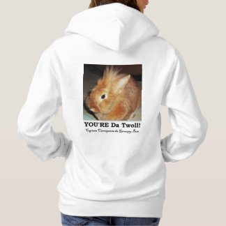 Disapproving Bunny Rabbit Troll Hoodie