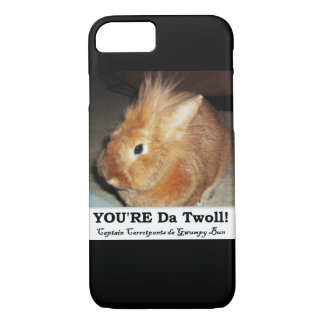 Disapproving Bunny Rabbit Troll iPhone 7 Case