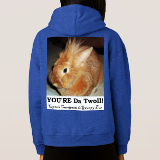 Disapproving Bunny Rabbit Troll Pullover Hoodie