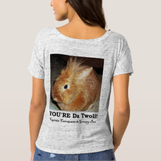 Disapproving Bunny Rabbit Troll Shirt