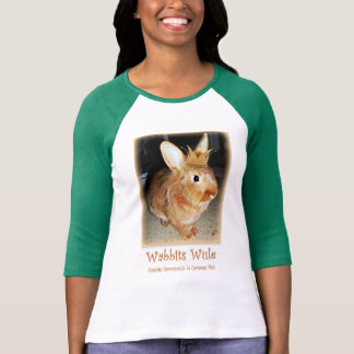 Disapproving Bunny Rabbit Wabbits Wule Shirt