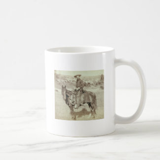 Disapproving Cowboy Design Coffee Mug