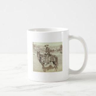 Disapproving Cowboy Design Coffee Mug