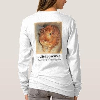 Disapproving Rabbit Bunny Rabbit Long sleeved shir T-Shirt