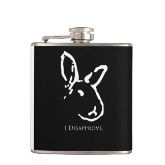 Disapproving Rabbit Flask