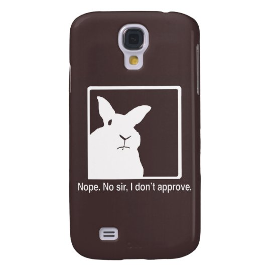 Disapproving Rabbits iPhone 3G/3GS case