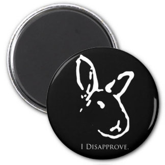 Disapproving Rabbits Magnet