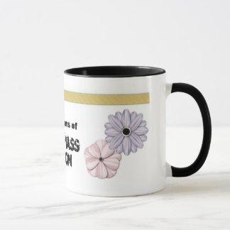 """""""Disarm emotional mass destruction"""" mug"""