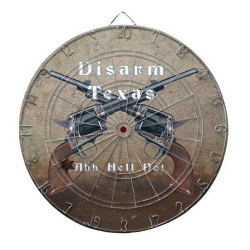 Disarm Texas Dart Boards