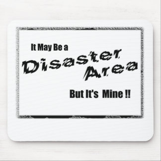 Disaster area mouse pad