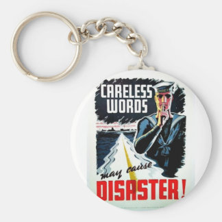 Disaster Key Chain