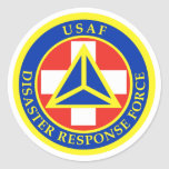 Disaster Response Force (Full Color) Classic Round Sticker