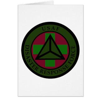 Disaster Response Force (Woodland Camo) Card