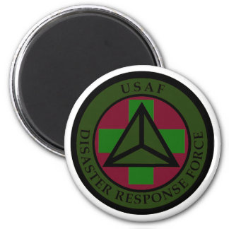 Disaster Response Force (Woodland Camo) Magnet