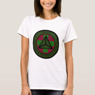 Disaster Response Force (Woodland Camo) Women's T T-Shirt
