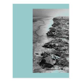 Disaster Zone Postcard
