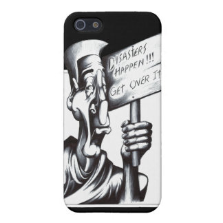 Disasters Happen iPhone SE/5/5s Cover