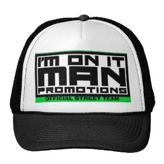 disc art 005, OFFICIAL STREET TEAM Trucker Hat